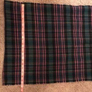 J. Crew Accessories - J Crew wool plaid scarf